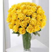 The FTD® Yellow Rose Bouquet - 36 Stems