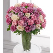 Pastel Rose Bouquet - 36 Stems