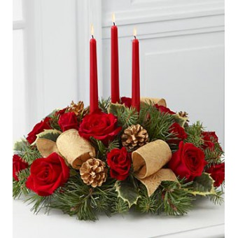 The FTD® Celebration of the Season™ Centrepiece