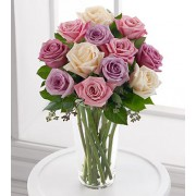 The FTD® Long Stem Pastel Rose Bouquet