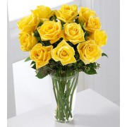 The FTD® Long Stem Yellow Rose Bouquet