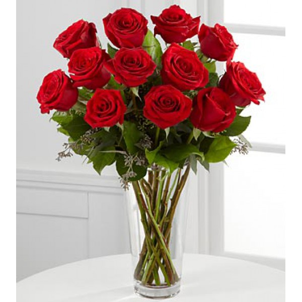 Order the ftd long stem red rose bouquet online from