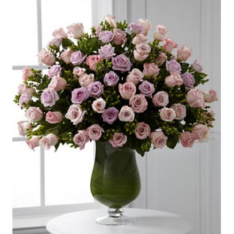 Applause Luxury Rose Bouquet - 72 Stems of 60-cm Long-Stemmed Roses