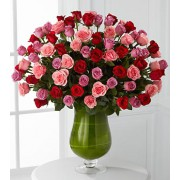 Heartfelt Luxury Rose Bouquet - 72 Stems of 60-cm Premium Long-Stemmed Roses