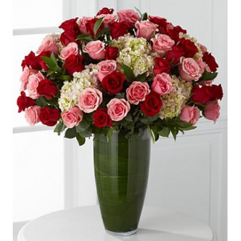 Indulgent Luxury Rose Bouquet - 48 Stems of 60-cm Premium Long-Stemmed Roses