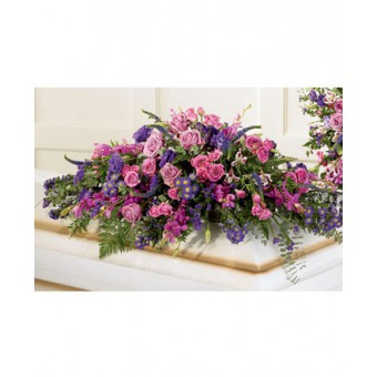 The FTD® Blanket of Flowers™ Casket Spray