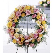 The FTD® Vibrant Sympathy™ Wreath