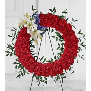 The FTD® To Honour One's Country™ Wreath