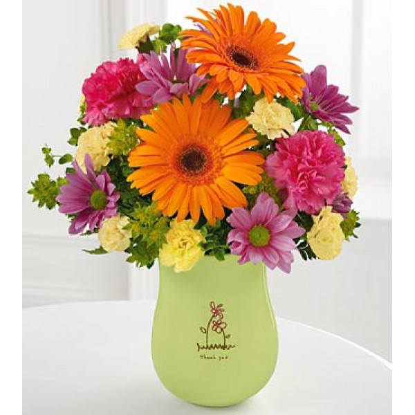 Order The FTD® Thank You Bouquet online from Flowers and More in ...