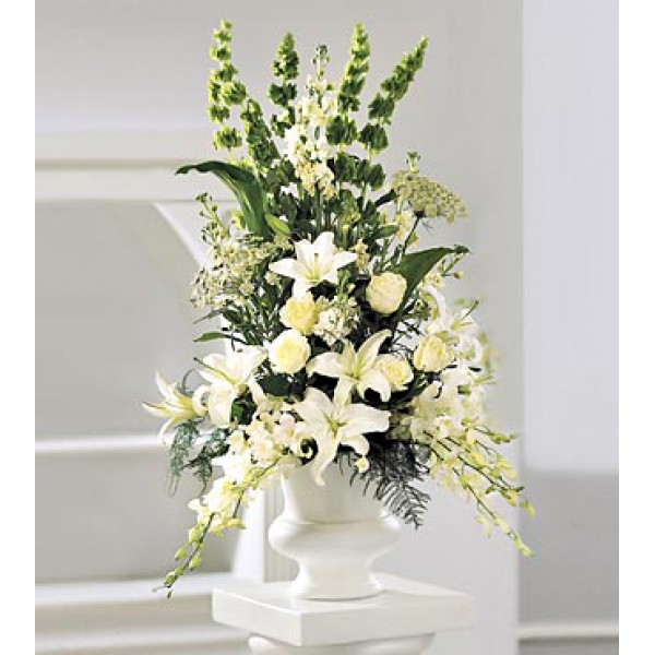 Order Classic White Arrangement Online From Flowers And