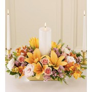 The FTD® Infinite Love™ Unity Candle Arrangement