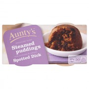 Aunty's Spotted Dick Pudding