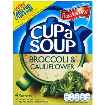 Batchelors Broccoli & Cauliflower Cup-A-Soup