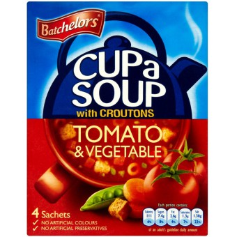Batchelors Tomato Vegetable Cup-A-Soup