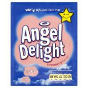 Bird's Strawberry Angel Delight
