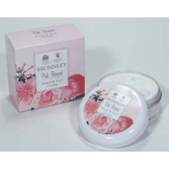 Bronnley Pink Bouquet Hand & Nail Cream