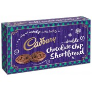 Cadbury Double Chocolate Chip Shortbread