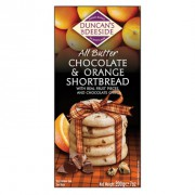 Duncan's of Deeside All Butter Chocolate & Orange Shortbread