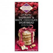 Duncan's of Deeside All Butter Raspberry & White Chocolate Shortbread