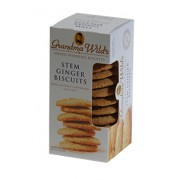 Grandma Wild's Stem Ginger Biscuits