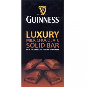 Guinness Luxury Milk Chocolate Bar