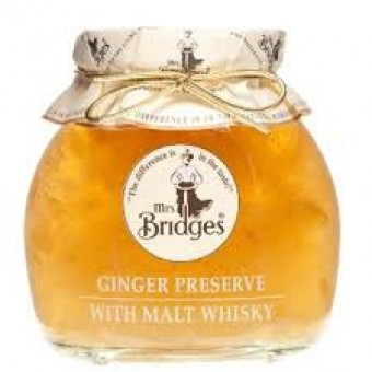 Mrs. Bridges Ginger Preserve With Malt Whisky