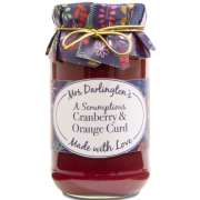 Mrs. Darlington's Cranberry & Orange Curd