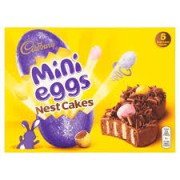Cadbury Mini Eggs Chocolate Nest Cake