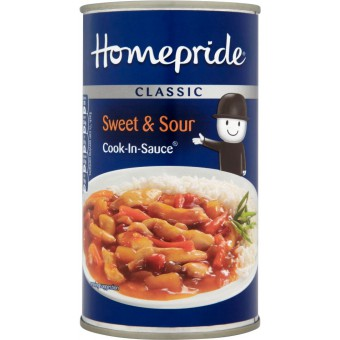 Homepride Classic Sweet & Sour Cook-in-sauce