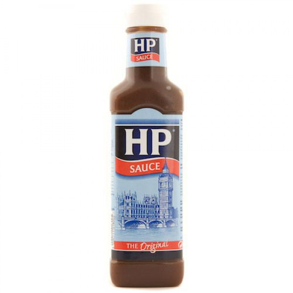 Heinz HP Sauce - Chicken & Rib mL. Heinz HP Chicken & Rib is a unique blend of exotic ingredients with a citrus twist. Tropical grapefruit, orange and lemon juices, along with lime oil, caramel and hints of chili peppers give this sauce its sweet and tangy flavour.