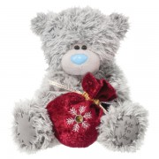 Me to You Tatty Teddy With Burgundy Gift Pouch
