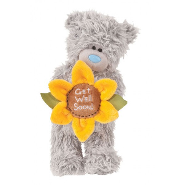 2aab2bbfa02 Buy Me to You Tatty Teddy Get Well Sunflower online from Flowers and ...