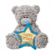 Me to You Tatty Teddy Happy Birthday Blue Star