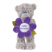 Me to You Tatty Teddy Happy Birthday Flower