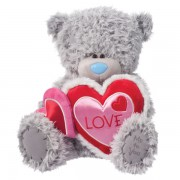 Me to You Tatty Teddy With Heart Cluster