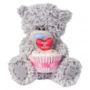 Me to You Tatty Teddy With Heart Cupcake