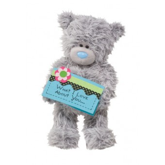 Me to You Tatty Teddy What I Love About You... Everything