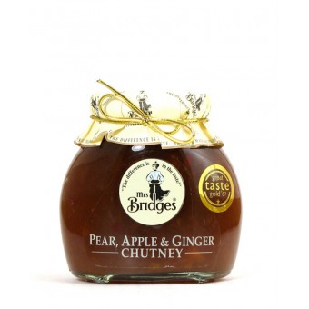 Mrs. Bridges Pear Apple & Ginger Chutney