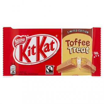 Nestle KitKat Limited Edition Toffee Treat