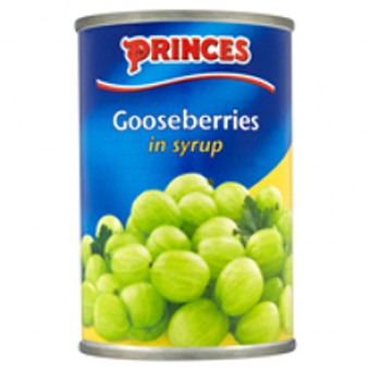 Princes Gooseberries In Light Syrup