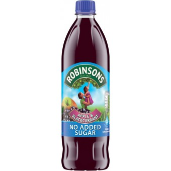 Robinsons Apple & Blackcurrant No Added Sugar
