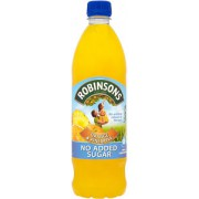 Robinsons Orange & Pineapple Fruit Squash No Added Sugar