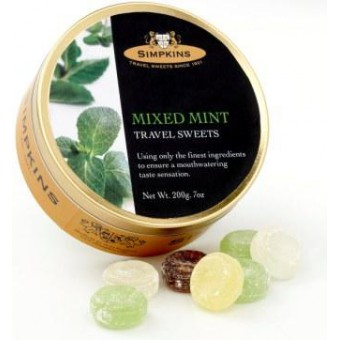 Simpkins Mixed Mint Travel Sweets