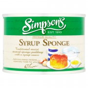 Simpsons Syrup Sponge Pudding