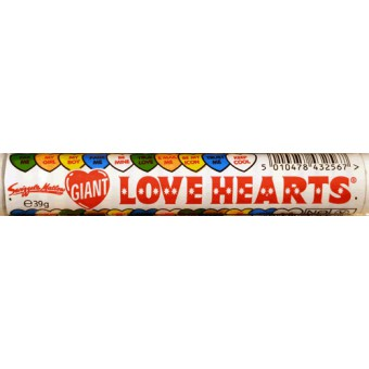 Swizzels Matlow Giant Love Hearts