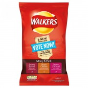 Walkers Meaty Variety 6-pack