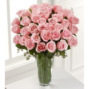 Pink Rose Bouquet - 36 Stems