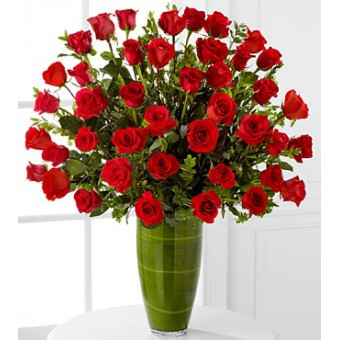 Fascinating Luxury Rose Bouquet - 40 Stems of 60-cm Premium Long-Stemmed Roses