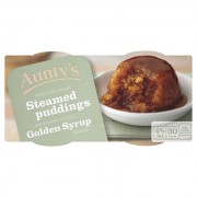 Aunty's Golden Syrup Pudding