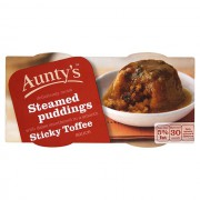 Aunty's Sticky Toffee Pudding